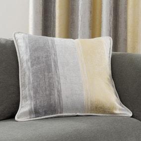 Sadie Stripe Ochre Cushion