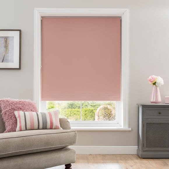 Blush Blackout Roller Blind  undefined