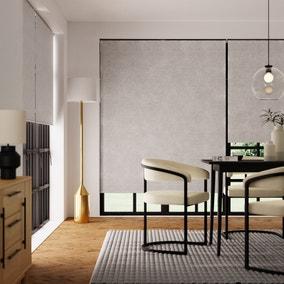 Montreal Dove Grey Blackout Roller Blind