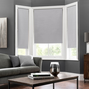 Montreal Dove Grey Blackout Roller Blind