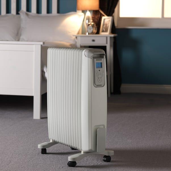 2000W Dimplex Evorad Oil Free Heater with Bluetooth White