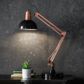 Gallery Direct Watson Task Desk Lamp Black and Bronze