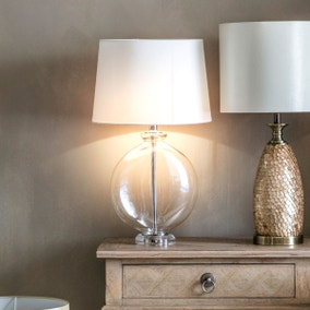 Gallery Direct Lowther Glass Table Lamp