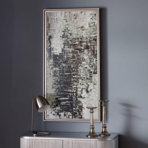 Vapour Abstract Framed Art Natural