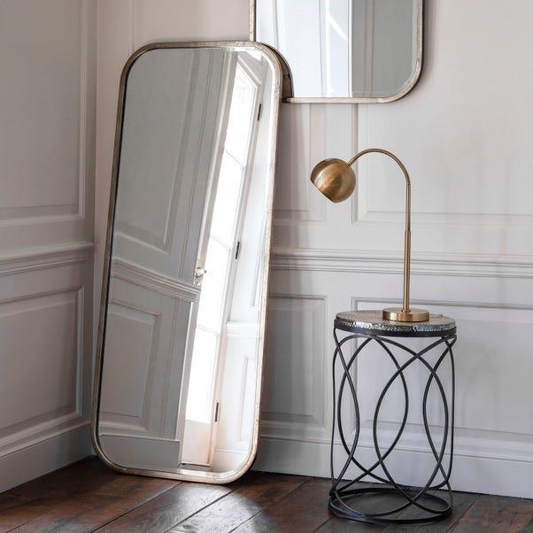 Logan Leaner Mirror Gold