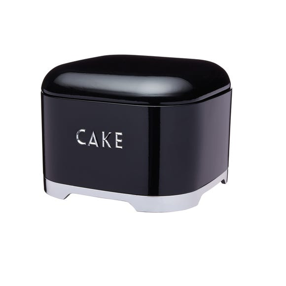 Lovello Black Cake Tin Black