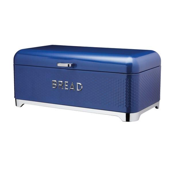 Lovello Blue Bread Bin Blue