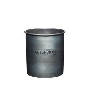 Industrial Kitchen Metal Utensil Holder