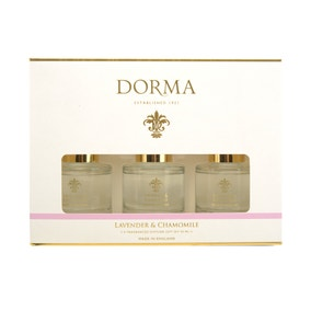 Dorma Set of 3 50ml Lavender and Camomile Reed Diffusers