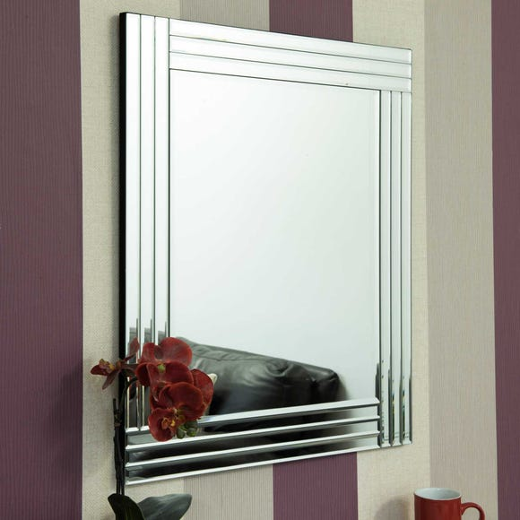 Wickham Wall Mirror Clear undefined
