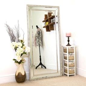 Anastasia Silver Leaner Mirror