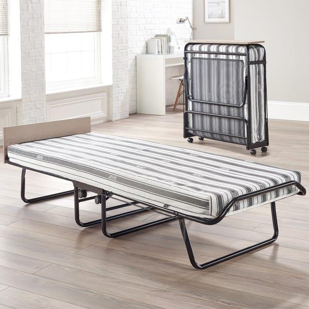 Supreme Airflow Fibre Folding Bed Black