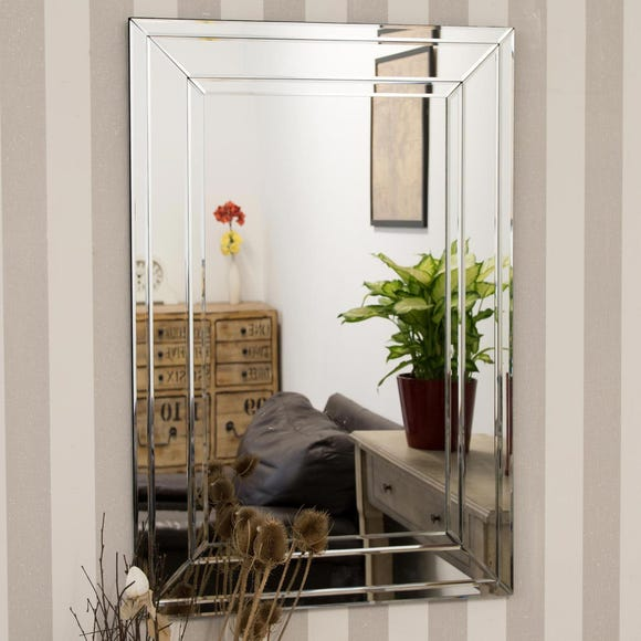 Claydon Wall Mirror Clear undefined