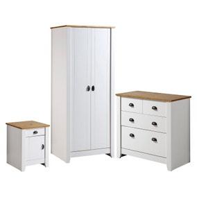 Ludlow White Bedroom Furniture Set