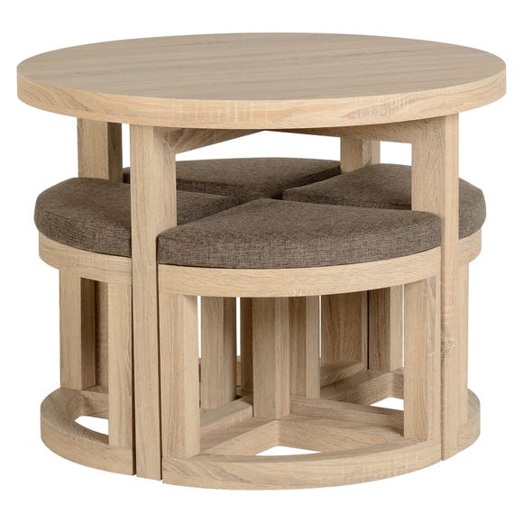 Cambourne Stowaway Dining Set Natural