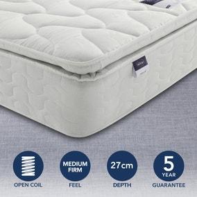 Silentnight Medium Firm Miracoil Pillowtop Mattress
