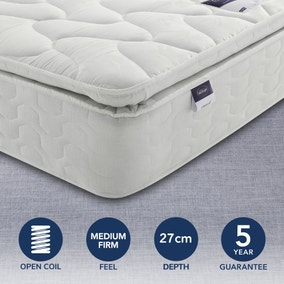 Silentnight Medium Firm Miracoil Pillowtop Mattress