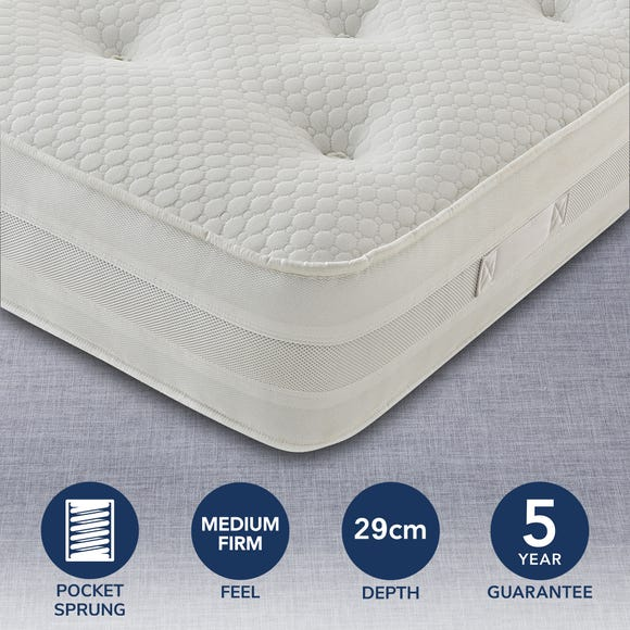Silentnight 1200 Pocket Mattress White undefined