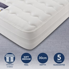 Silentnight Soft Medium 2000 Pocket Memory Mattress