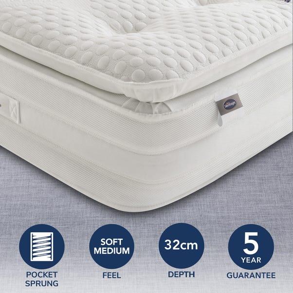 Silentnight Soft Medium 2000 Pocket Geltex Pillowtop Mattress  undefined