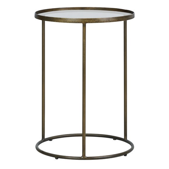 Pimlico Antique Brass Side Table Antique Brass