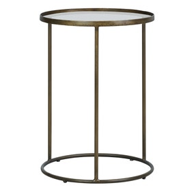 Pimlico Antique Brass Side Table