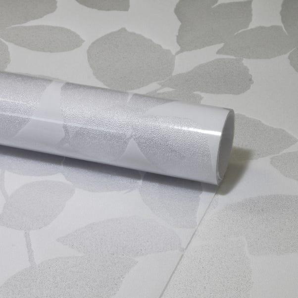 Fablon Leaf Static Window Film White