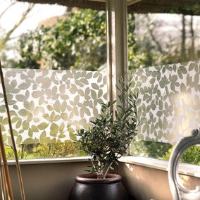 Fablon Leaf Static Window Film