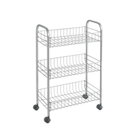 Metaltex Lugano Metallic Trolley