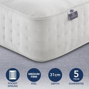 Silentnight Medium Firm 2800 Pocket Natural Orthopeadic Mattress