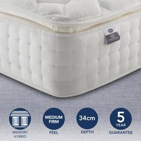 Silentnight Medium Firm 2800 Pocket Memory Pillowtop Mattress