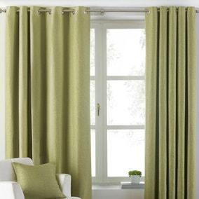 Atlantic Green Eyelet Curtains