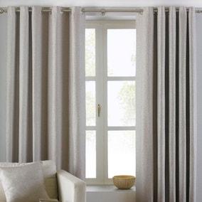Atlantic Natural Eyelet Curtains