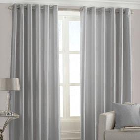 Fiji Steel Eyelet Curtains
