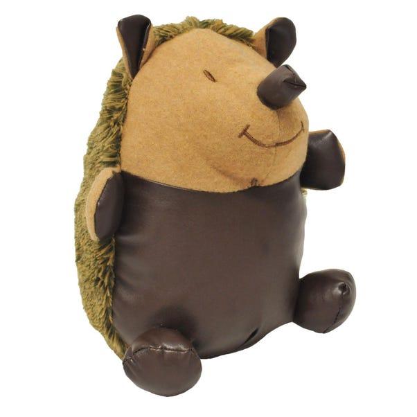Hedgehog Doorstop Brown