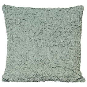 Rouched Velvet Cushion