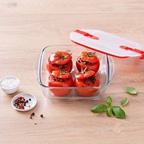 Pyrex Cook & Heat Square Oven Dish with Lid