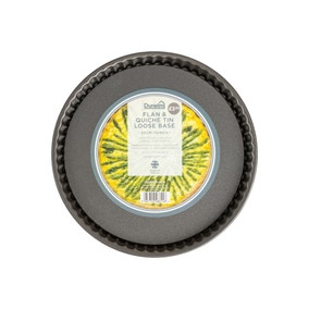 Dunelm 25cm Loose Base Flan and Quiche Tin