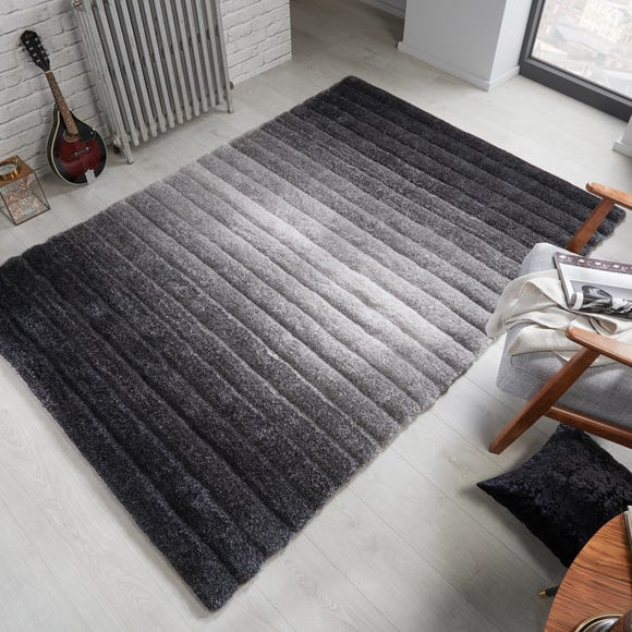 Verge Ombre Rug Grey undefined