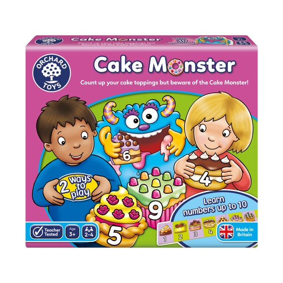 Orchard Toys Cake Monster MultiColoured