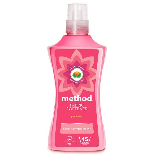 Method 1.5L Pink Freesia Fabric Softener Pink