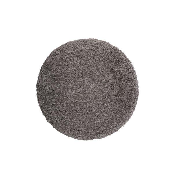 Bertie Shaggy Circle Rug Bertie Grey