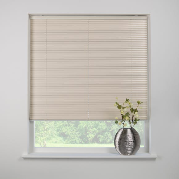 Swish Cocoa Butter Cordless Aluminium Venetian Blind 25mm Slats  undefined