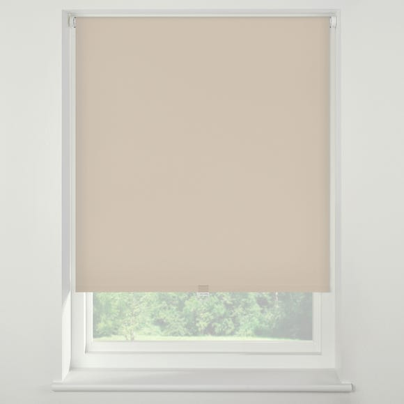 Swish Almond Milk Cordless Blackout Roller Blind almond_cream undefined