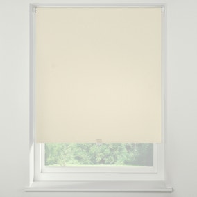 Swish Butter Milk Cordless Blackout Roller Blind