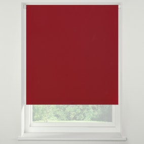 Swish Cherry Cordless Blackout Roller Blind