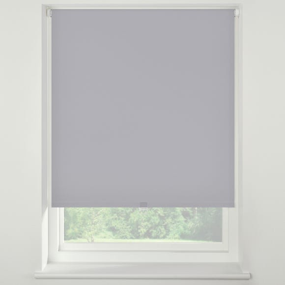 Swish Dove Grey Cordless Blackout Roller Blind  undefined
