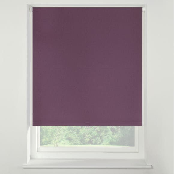 Swish Mulberry Cordless Blackout Roller Blind mulberry_purple undefined