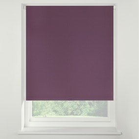 Swish Mulberry Cordless Blackout Roller Blind