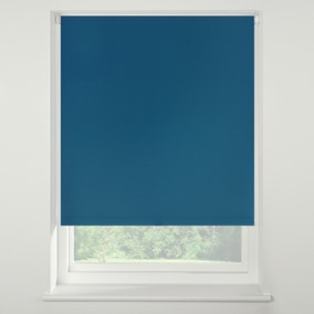 Swish Peacock Cordless Blackout Roller Blind
